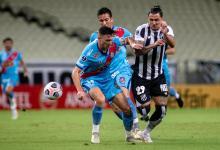 Copa Sudamericana: Arsenal igualó sin abrir el marcador con Ceará en Brasil
