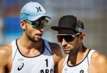 Beach Volley: el entrerriano Azaad y Capogrosso cayeron en el inicio del cuadro principal