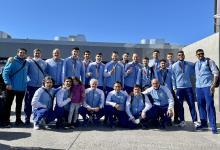 Vóley: los medallistas olímpicos volvieron a la Argentina