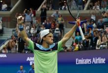 Tenis: Schwartzman se metió entre los ocho mejores del Abierto de Estados Unidos