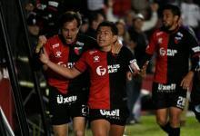 """Sobre el final, Luis """"Pulga"""" Rodríguez le dio el triunfo a Colón ante Mineiro en Santa Fe"""