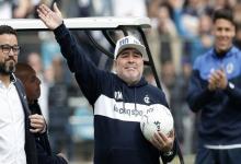 Maradona dirigió la práctica de Gimnasia, pero su futuro estaría lejos de La Plata