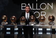 Lionel Messi se quedó con su sexto Balón de Oro y es el más ganador de la historia