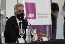 El rector de la UNR Franco Bartolacci
