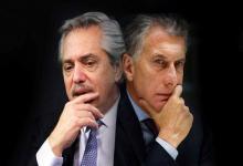 Alberto Fernández y Mauricio Macri, los precandidatos presidenciales que mejor miden en las encuestas.