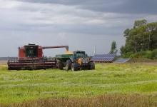 El rendimiento que arrojó el ensayo del uso de energía solar para el cultivo de arroz fue entre un 30 y un 40 por ciento superior al promedio que resulta del riego con energía eléctrica convencional.