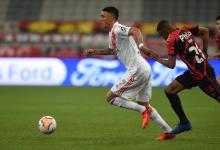 Copa Libertadores: River recató un empate agónico en Brasil