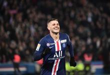 Mauro Icardi se despachó con un triplete en la Copa de la Liga de Francia