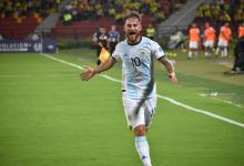 Fútbol: Argentina festejó ante Uruguay en el inicio del cuadrangular en el Preolímpico