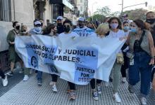 En Buenos Aires hubo un masivo reclamo de justicia por la muerte de Maradona