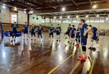 Vóley: con el paranaense Luciano Vicentín, comenzó a entrenar la selección argentina