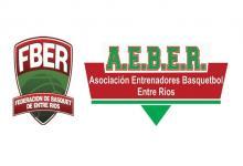 Desde FBER se reunieron con la Asociación de Entrenadores de Básquetbol de Entre Ríos