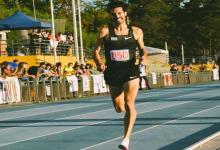 El concordiense Federico Bruno volvió a batir el récord nacional en 1500 metros llanos