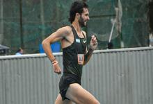 Atletismo: el concordiense Federico Bruno bajó los cuatro minutos en la milla