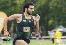 Federico Bruno triunfó en los 1500 metros del Grand Prix Sudamericano de Montevideo