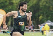 El concordiense Federico Bruno logró un nuevo récord argentino de 1500 metros