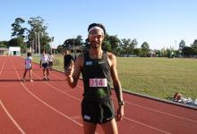 Atletismo: Federico Bruno logró su mejor marca del año en 1500 metros