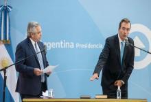 Fernández le tomó juramento a Soria como ministro de Justicia y elogió a Losardo