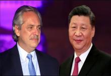 Alberto Fernández y Xi Jinping, líder chino
