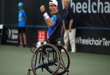 Tenis adaptado: Gustavo Fernández avanzó a las semifinales del US Open