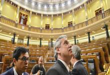 Alberto Fernández en el Congreso español