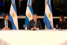 Alberto Fernández anunció programa de viviendas