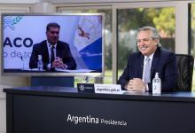 Alberto Fernández anuncio de inversiones de empresa en Chaco