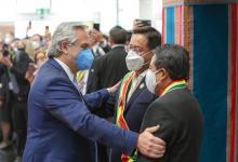 Fernández con Arce y Choquehuanca