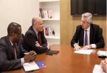 Alberto Fernández con FMI