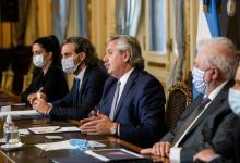 Alberto Fernández y gabinete virtual con gobernadores