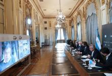 Fernández reunión virtual con gobernadores