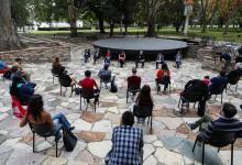 Alberto Fernández y parte del gabinete con referentes de barrios populares