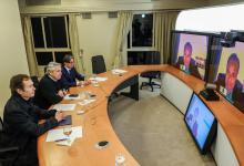 Alberto Fernández videoconferencia