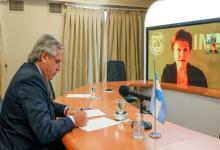 Fernández virtual con Georgieva FMI