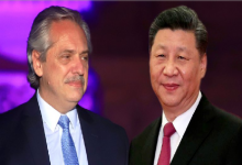 Fernández y Xi Jinping