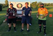 Pablo Donatti festejó en la 3ª fecha del Tour entrerriano de Footgolf