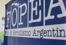 FOPEA rechazó las críticas del presidente hacia la prensa