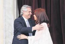 El presidente Alberto Fernández y su vice Cristina Kirchner, con una estrategia común ante el FMI.