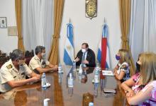 Bordet se reunió con Prefectura