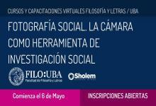 """""""Fotografía Social. La cámara como herramienta de investigación social"""""""
