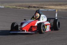 Isidoro Vezzaro probó de cara a la Fórmula Renault en el autódromo de Paraná