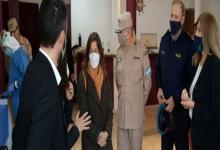 Frederic participó en La Histórica del testeo a personal de fuerzas federales