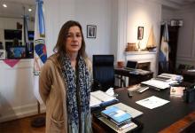 Frederic, en su despacho del Ministerio de Seguridad de la Nación.