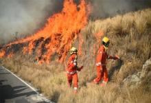Partieron hacia la zona de desastre con la misión de reemplazar a sus pares de Córdoba. Los bomberos voluntarios de Entre Ríos fueron capacitados en incendios de áreas forestales.