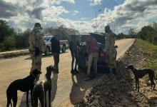 La Policía Rural realizó dos operativos en Costa Uruguay Sur y en Camino a Ñandubaysal (Gualeguaychú), donde identifican a diez personas que realizaban caza ilegal.