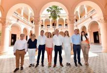 Fin del misterio. El nuevo gabinete de Gustavo Bordet fue anunciado hoy por el gobernador.