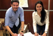 Alejandra Viola y Emanuel Gainza