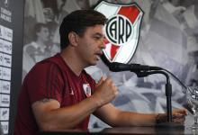 """Marcelo Gallardo confirmó que seguirá en River: """"Nunca tuve en duda mi continuidad"""""""