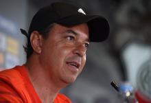 Marcelo Gallardo confirmó River con el entrerriano Milton Casco y Paulo Díaz
