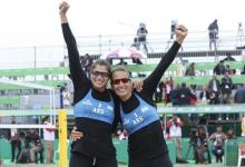 La entrerriana Ana Gallay retomó los entrenamientos junto a Fernanda Pereyra